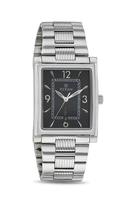 Titan 90024SM02 Karishma Slimline Analog Watch for Men