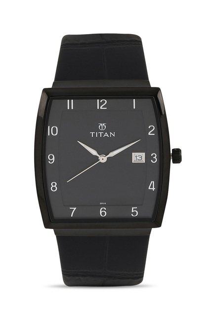 Titan 90076NL01J Classique Slimline Analog Watch for Men