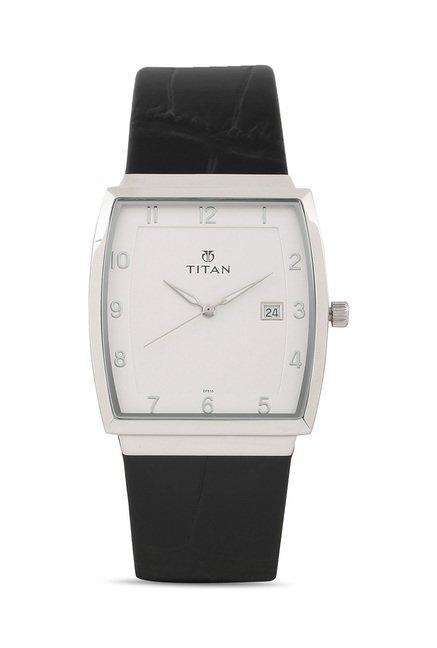 Titan 90076SL01J Classique Slimline Analog Watch for Men