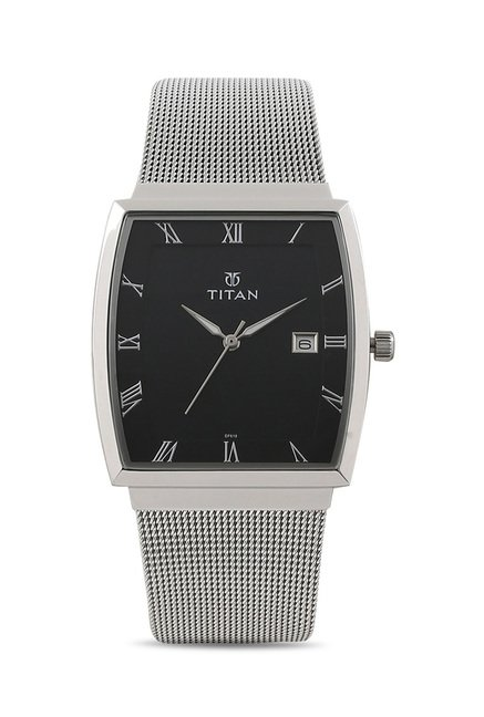 Titan 90076SM01J Classique Slimline Analog Watch for Men
