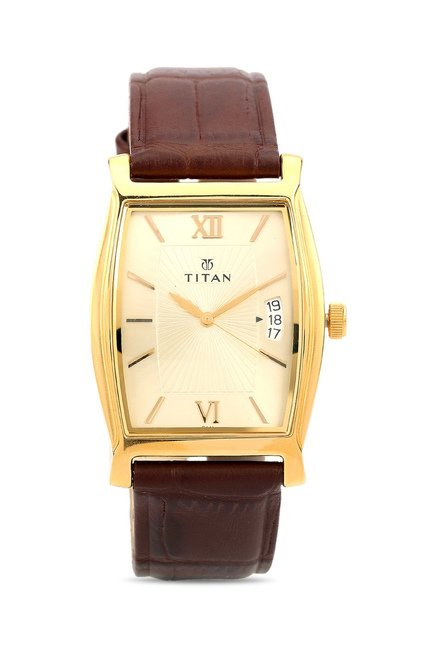 Titan 1530YL04 Classique Analog Watch for Men