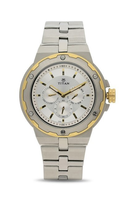 Titan 1654BM01 Regalia Analog Watch for Men