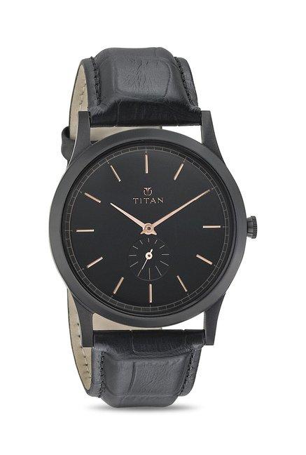 Titan 1674NL01 Classique Retro Analog Watch for Men
