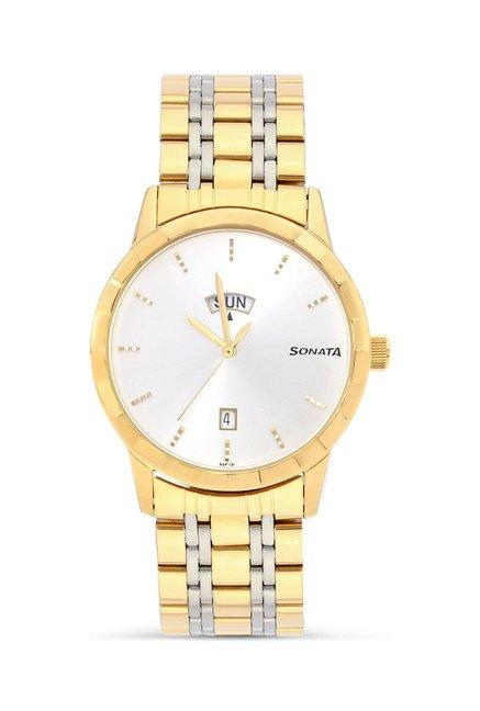 Sonata 7113BM01 Analog Watch