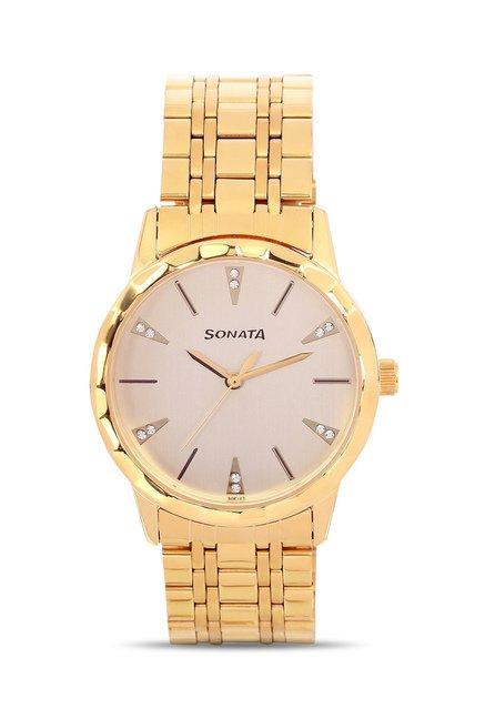 Sonata 7113YM02 Glamors Analog Watch for Men