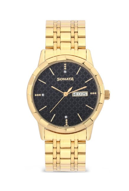 Sonata 7113YM05 Analog Watch