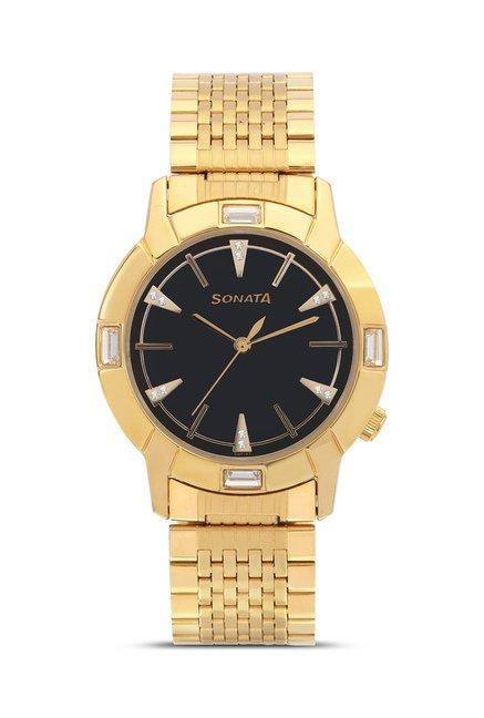 Sonata 7116YM01 Glamors Analog Watch for Men