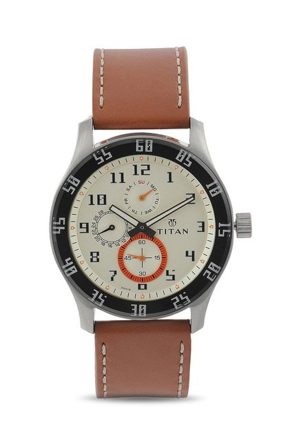 Titan 1632SL02 Octane Analog Watch for Men