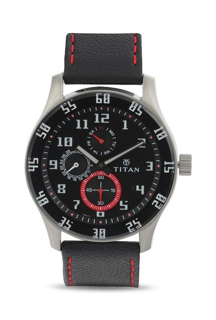 Titan 1632SL03 Octane Analog Watch for Men