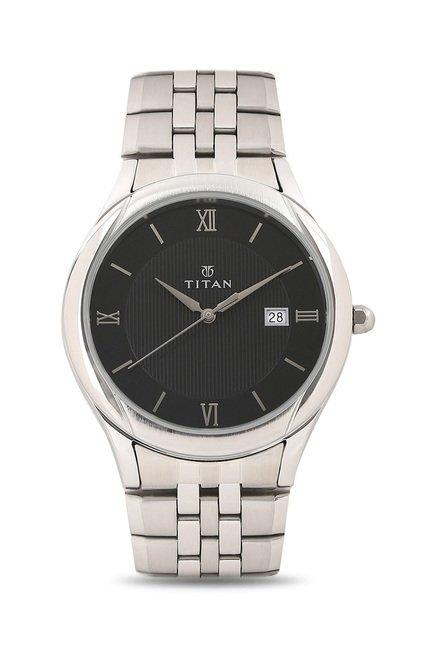 Titan NH1494SM02 Formal Steel Analog Watch for Men