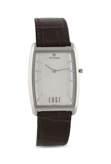 Titan Analog Display Quartz Brown Men's Watch, 1575SL01