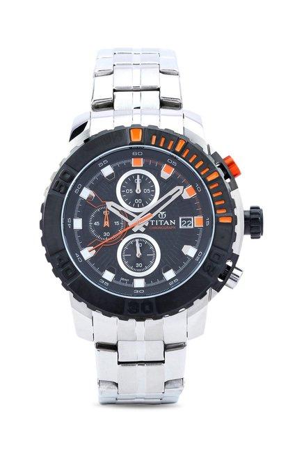 Titan 90029KM01 Octane Analog Watch for Men