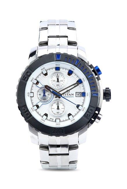 Titan 90029KM02 Octane Analog Watch for Men