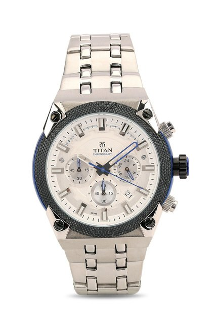 Titan 90030KM02 Octane Analog Watch for Men