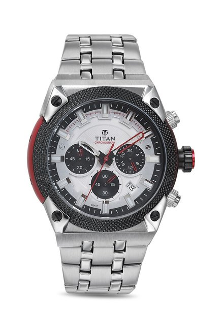 Titan 90030KM03 Octane Analog Watch for Men