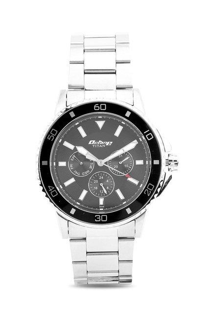 Titan 90040KM01J Octane Analog Watch for Men