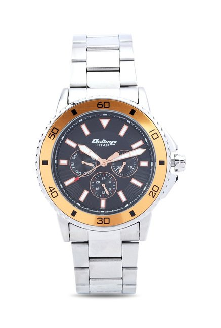 Titan 90040KM02J Octane Analog Watch for Men