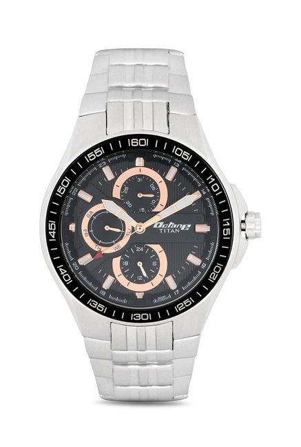 Titan 90041KM01J Octane Analog Watch for Men
