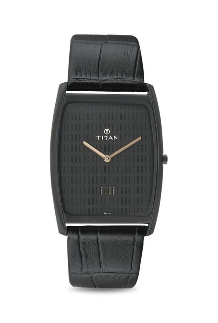 Titan NH1596NL01 Edge Analog Watch for Men
