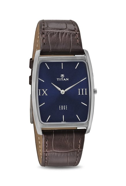 Titan NH1596SL02 Edge Analog Watch for Men