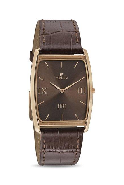 Titan NH1596WL03 Edge Analog Watch for Men