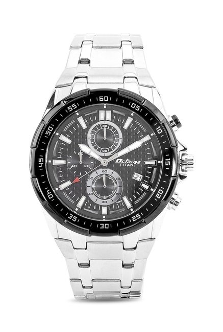 Titan 90044KM02J Octane Analog Watch for Men