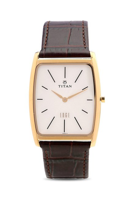 Titan NH1596YL01 Edge Analog Watch for Men