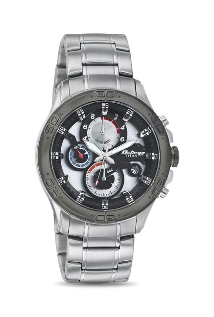 Titan 90047KM01J Octane Analog Watch for Men
