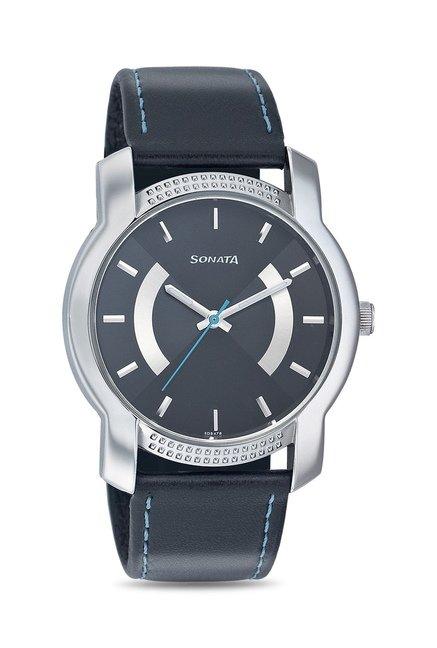 Sonata 7093SL02 Yuva Analog Watch for Men