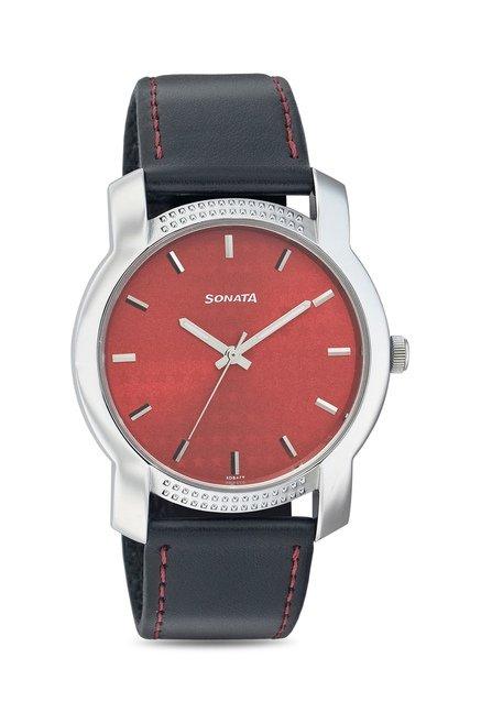 Sonata 7093SL03 Yuva Analog Watch for Men