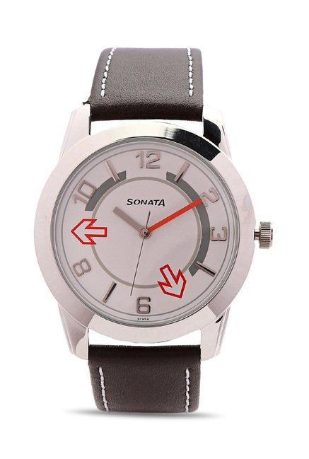 Sonata 7924SL03 Yuva Analog Watch for Men