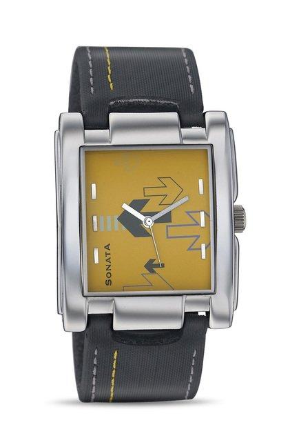 Sonata 7946SL01 Yuva Analog Watch for Men