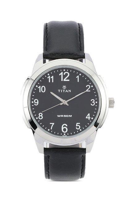 Titan 1585SL08C Classique Neo Analog Watch for Men