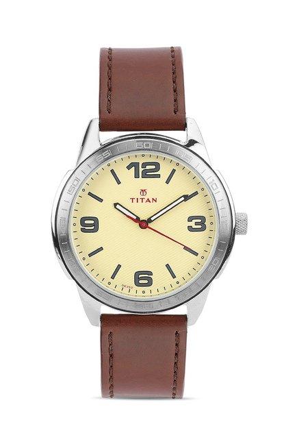 Titan 1585SL06C Analog Watch for Men