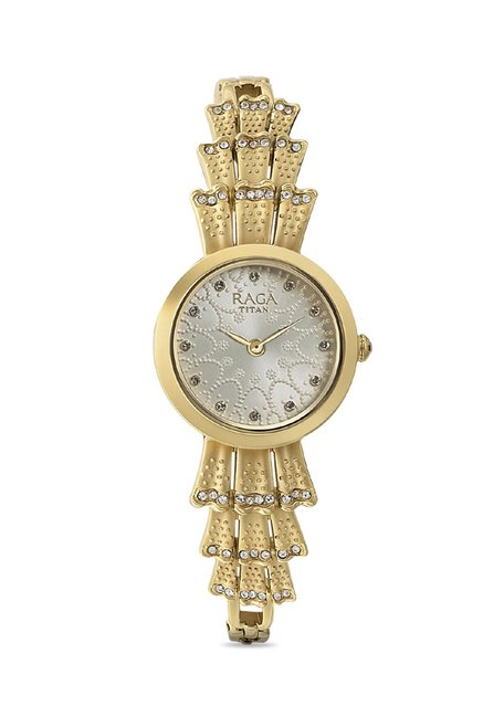 Titan 95044YM01J Raga Aurora Analog Watch for Women