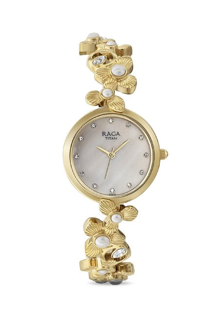 Titan 95048YM01J Raga Aurora Analog Watch for Women