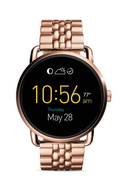 Fossil FTW2112 Q Wander Smart Watch for Women