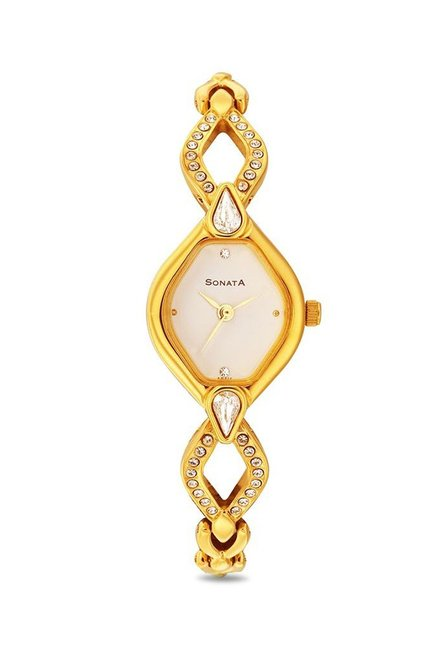 Sonata 8063YM03 Sona Sitara Analog Watch for Women