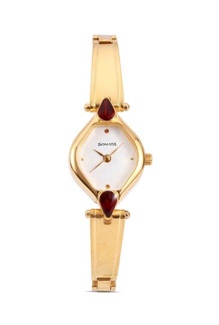 Sonata 8063YM05 Sona Sitara Analog Watch for Women