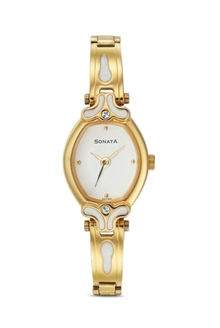 Sonata 8068YM03 Sona Sitara Analog Watch for Women