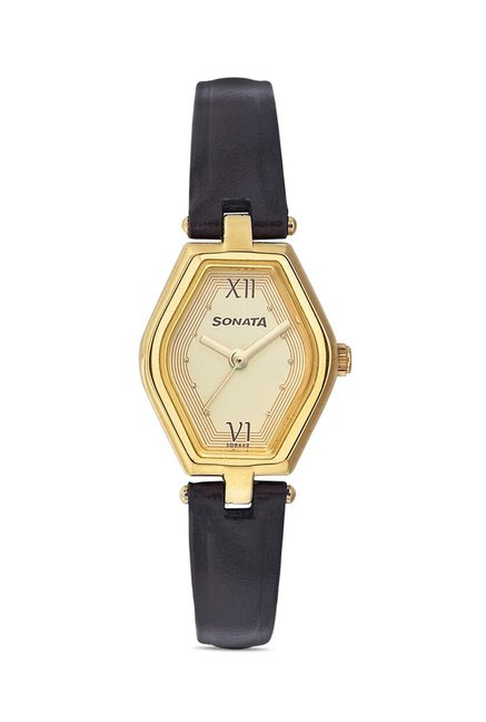 Sonata 8082YL01 SFAL Analog Watch for Women