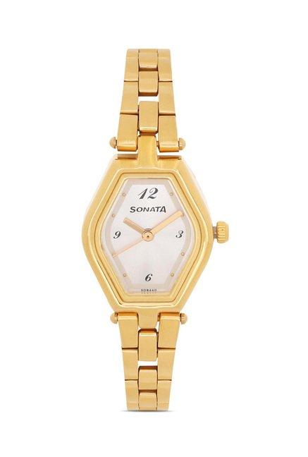 Sonata 8082YM01 SFAL Analog Watch for Women