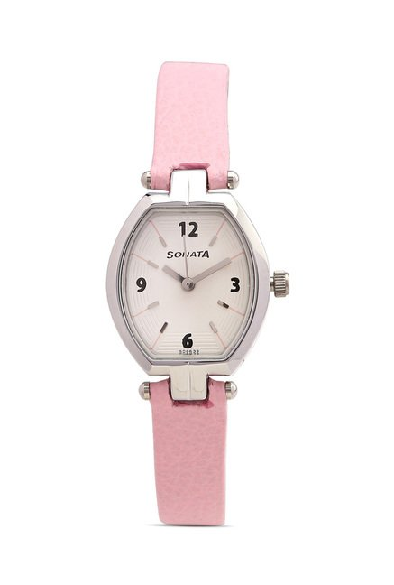 Sonata 8083SL01 SFAL Analog Watch for Women