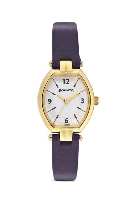 Sonata 8083YL01 SFAL Analog Watch for Women