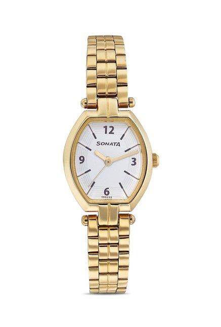 Sonata 8083YM01 SFAL Analog Watch for Women