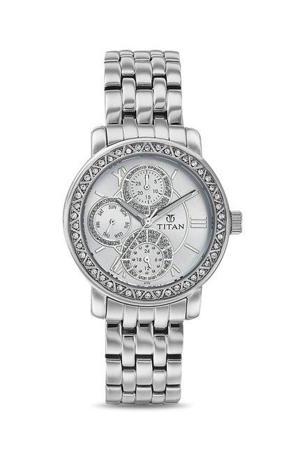 Titan NF9743SM01E Analog Watch for Women