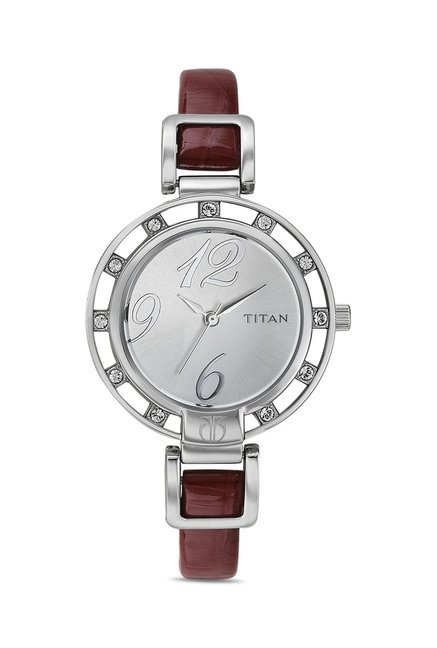 Titan NF9924SL02J Analog Watch for Women