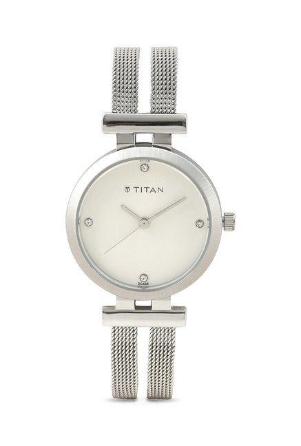 Titan NF9942SM01J Analog Watch for Women