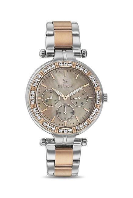 Titan NF9965KM01J Analog Watch for Women