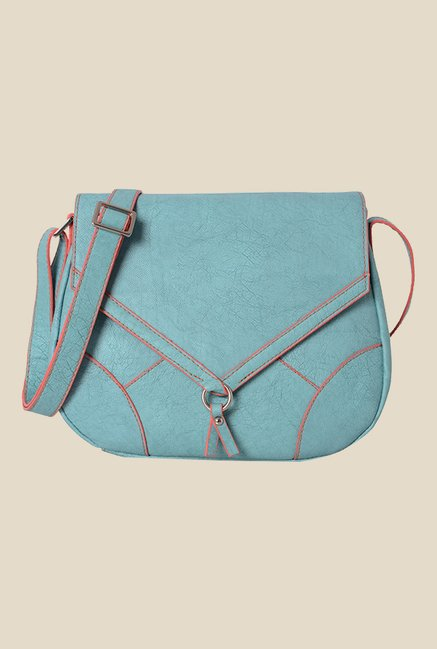 Baggit Renne Gland Blue Synthetic Sling Bag